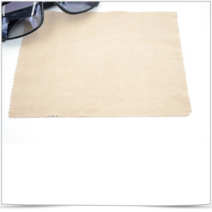 Pure Color Sunglasses Microfiber Wiping Cloth pictures & photos