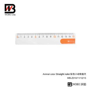 Colorful 15cm Plastic Ruler for Office Stationery Use pictures & photos