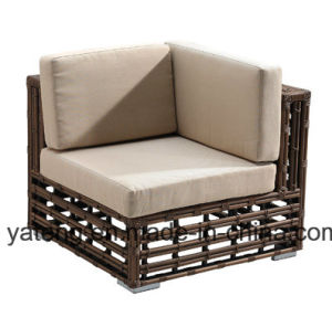 Top Quality Synthetic Rattan Outdoor Garden Furniture Cornor Sofa Set (YT611) pictures & photos