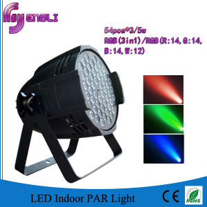 RGB 3in1 54PCS 3watt LED PAR Light for Dyeing Effect pictures & photos