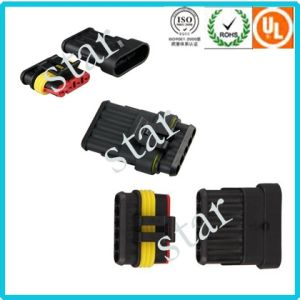automobile 6 pin way wire harness connector tyco amp automobile 6 pin way wire harness connector tyco amp waterproof male female car connector