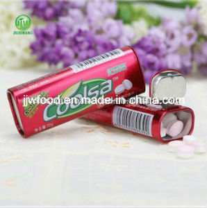 22g Fruit Flavor Tablet Candy Strawberry Flavor pictures & photos