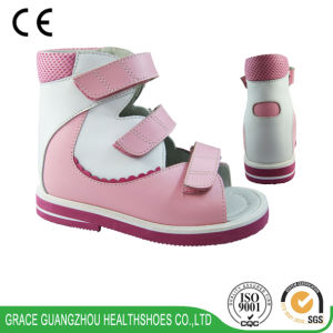Graceortho Health Sandal Kids Sandal Orthopedic Shoes for Flat Foot pictures & photos