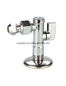 Brass Angle Valve with Filter, Ball Joint and Flange (NV-3011) pictures & photos