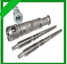 Bimetallic Twin Screw Barrel for PVC Film Extrusion Machine