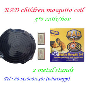 China Black Micro-Smoke with Factory Price Mosquito Coil