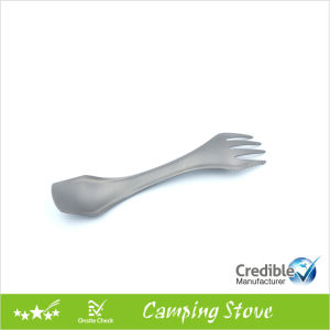 High Quality 3 in 1 Ultraight Titanium Spork pictures & photos