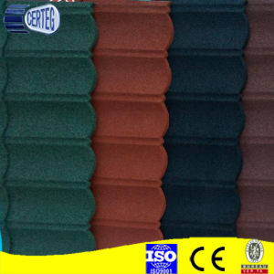 Color Steel Plate Material and stone coated metal rooftiles pictures & photos
