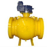 3 PC Casting Trunnion Ball Valve pictures & photos