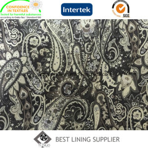 100% Polyester 290t Tafffeta Printed Lining Fabric Jacket Suit Lining pictures & photos