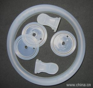 Customized Food Grade FDA Silicone Rubber Part pictures & photos