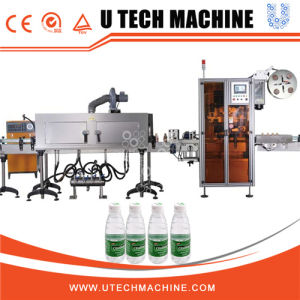 Double Head Shrink Sleeve Labeling Machine pictures & photos