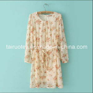 The Polyester Silk Chiffon with Printing for Women Cloth pictures & photos