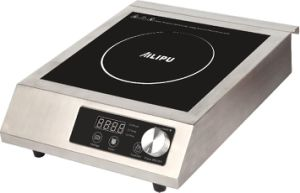 Knob Control High Quality Commercial Induction Stove pictures & photos