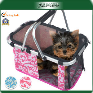 Manufacturer Reusable Promotional Printed Foldable Pet Carry Basket pictures & photos