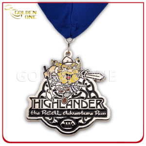 Creative Design Nickle Finish Soft Enamel Metal Medal pictures & photos