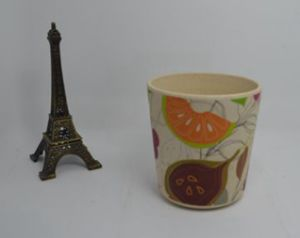 Bamboo Fiber Cup with Print (BC-CP1008) pictures & photos