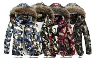 Fashion Latest Design High Quality Camo Down Jacket for Man pictures & photos