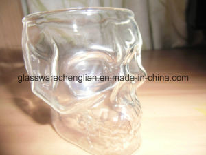 High Borosilicate Skull Double Wall Glass Cup (B-DBW19) pictures & photos
