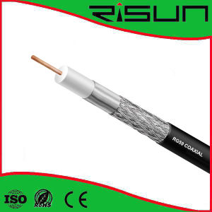 High Quality RG6 Cable/Coaxial Cable with Ce, RoHS, ISO9001 pictures & photos