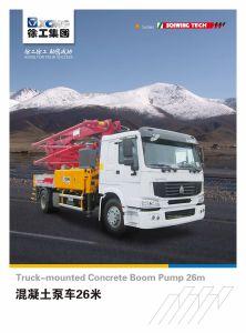 XCMG Official Manufacture Hb26k Small Portable Concrete Mixer Pump pictures & photos