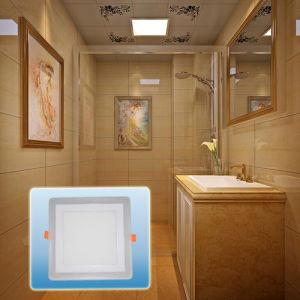 LED Spotlight/Aluminum High Lumen Double Color Square COB Light pictures & photos