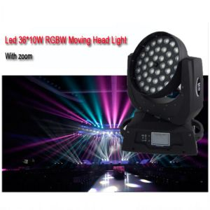 RGBW Wash 36*10W 4in1 Aura Zoom LED Stage Light pictures & photos