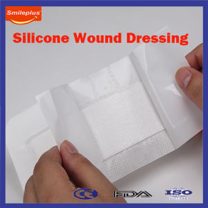 Non Woven Silicone Wound Dressing for Baby Skin pictures & photos