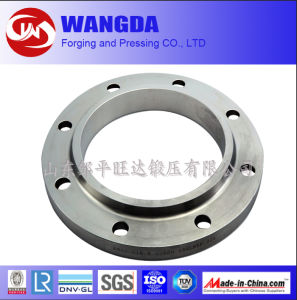High Precision CNC Machining Galvanised Carbon Steel Flange pictures & photos