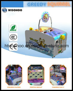 Amusement Park Classical Hit The Hamster Game Coin Operated Machine