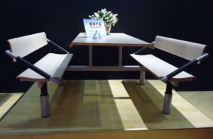Good Quality Steel Wood Restaurant Furniture Sets pictures & photos