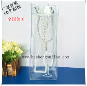Custom Colorful PVC Ice Bag. Handle Promotional Bag pictures & photos