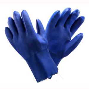 15 G PVC Oil and Water Resistand Gloves pictures & photos