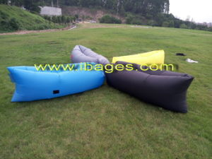 Free Sample Fast Air Filling Sleeping Laybag Outdoor (A0078) pictures & photos