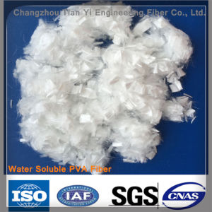PVA Water Soluble Fiber 90 Degree C pictures & photos