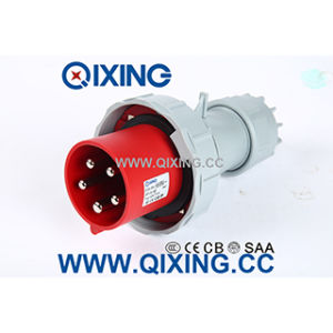 En/IEC 63A 400V 5p Red Industrial Plug pictures & photos