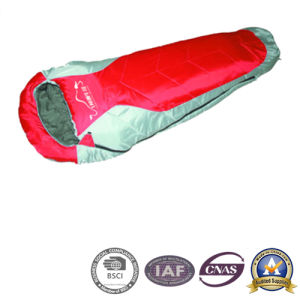 190t Polyester Mummy Sleeping Bag for Camping