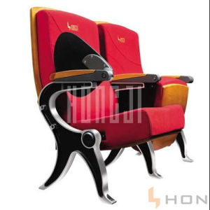 High Quanlity 4 Legs Fabric and Aluminum Auditorium Hall Chairs pictures & photos