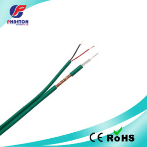 Green Kx6 RF Coaxial Cable with 2c Power Cable for CCTV pictures & photos