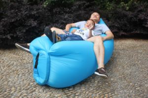 Fast Inflatable Laybag Sleeping Bag Lamzac Hangout Lounger Air Camping Sofa Kaisr Beach Nylon Fabric Sleep Bed Lazy Chair