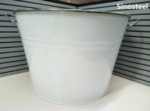 Large Round Beer Wine Cooler Ice Bucket for Party pictures & photos