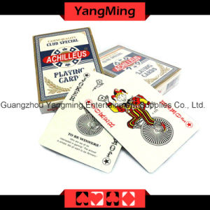 Black Core Paper Korea Import Poker Card (YM-PC07) pictures & photos