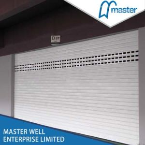 Commercial Polyurethane Shopping Mall Roller Shutter Door pictures & photos
