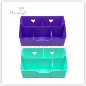 Household Home Sundries Stationery Makeup Office Storage Desk Organizer Box pictures & photos