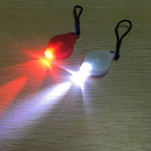 Cr2302 Battery Operated Mini Red White LED Color Rear Bike Tail Light Safety Warning Lamp pictures & photos
