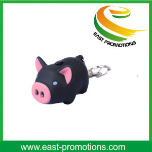 Top Sell Promotion Gift Flashing LED Keychain pictures & photos