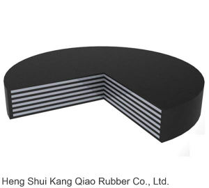 ASTM Standard Laminated Rubber Bearing Pad for Large Span Bridge Construction pictures & photos