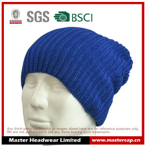 Acrylic Beanie Knitted Hat for Men pictures & photos