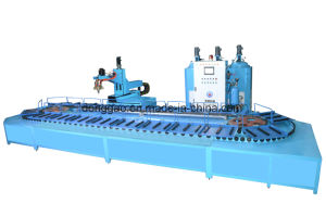 Automatic Adding Color PU Safety Shoe Making Machine pictures & photos