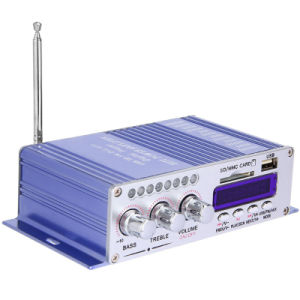FM Radio Aux Player U Disk SD CD DVD Digital AMP Motorcycle Auto Stereo Amplifier Sound pictures & photos